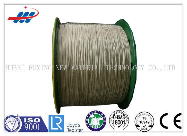 High Tenacity Brass Coated Wire For Conveyor Belts / Tire Cord Fabric